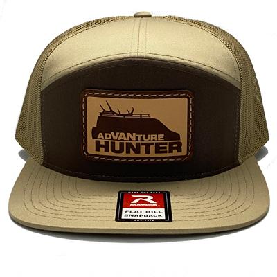 Order Online | AdVANture Hunter Climber Snapback Hat Brown/Khaki
