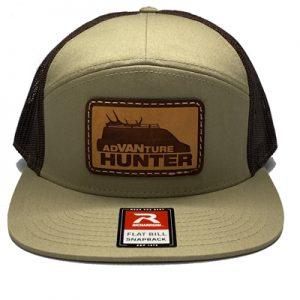 Order Online | AdVANture Hunter Expedition Snapback Hat Khaki/Brown