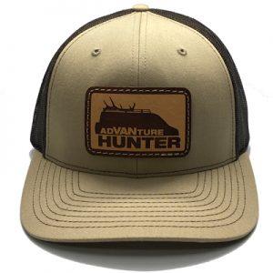 Order Online | AdVANture Hunter Pebble Snapback Hat Khaki/Coffee